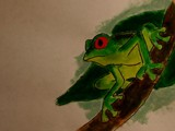 Treebaby by DrPepper89, Contests->Draw a Frog gallery