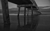 Pier in Black and White by tweir, photography->shorelines gallery