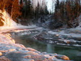 Frozen Alaskan Creek by Pistos, photography->landscape gallery
