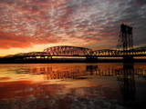 I-5 Skies by busybottle, photography->bridges gallery