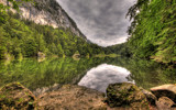 Tyrolean Lake [HDR] by boremachine, Photography->Shorelines gallery