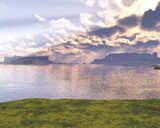 Storm Cloud by TokenArt, Computer->Landscape gallery