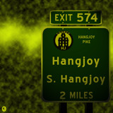 AU Road Signs - Exit 574 by Jhihmoac, illustrations->digital gallery