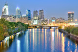 Philadelphia By Night by nburwell, Photography->Architecture gallery