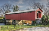 Newly Renovated Mull Covered Bridge 2 by Jimbobedsel, photography->bridges gallery
