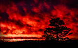 Red Skies by Eubeen, photography->skies gallery