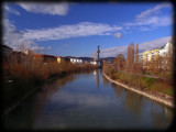 View from a bridge - daytime by boremachine, Photography->City gallery