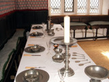 Inside Plas Mawr.... The great hall  dining table. by johindes, Photography->General gallery