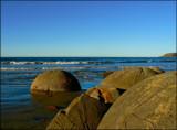 Moeraki Boulders #3 by LynEve, Photography->Shorelines gallery