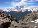 Long's Peak as seen from Twin Sisters by Jawatts1, Photography->Mountains gallery