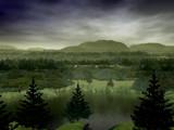 Coniferous Hills by DixieNormus, Computer->Landscape gallery