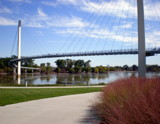 Bob Kerrey Pedestrian Bridge by Pistos, photography->architecture gallery