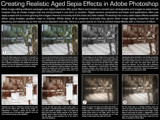 Sepia & Ageing Effects Tutorial by philcUK, Tutorials gallery