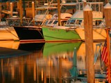 Boats at Sunset by charlescurtis, Photography->Water gallery