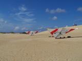 Hang Gliders at Jockeys Ridge by geolgynut, Photography->Transportation gallery