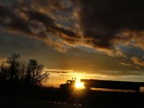Truckers Sunset !! by verenabloo, photography->transportation gallery