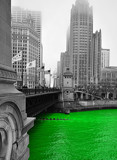 Green - Chicago River by zepkin, holidays gallery