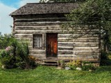 Caspar Ott Log House, 1837 - Deerfield IL by trixxie17, photography->architecture gallery