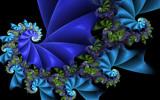 Bloo Festoon by tealeaves, Abstract->Fractal gallery