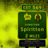 AU Road Signs - Exit 569 by Jhihmoac, illustrations->digital gallery