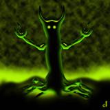 The Phantom Tree by Jhihmoac, illustrations->digital gallery