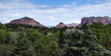 Sedona Viewed from the Coconino National Forest Ranger Stati by luckyshot, photography->landscape gallery