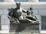 MO State Capitol statue # 1 by Hottrockin, Photography->Sculpture gallery
