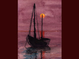 St Ives boat by alby58, Illustrations->Traditional gallery