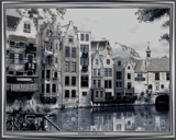 Delfshaven in Delfts Blue by rvdb, Photography->Manipulation gallery