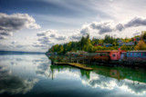 Along Hood Canal by gr8fulted, photography->shorelines gallery
