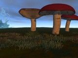 Mushrooms at Dusk by CaptainHero, Computer->3D gallery