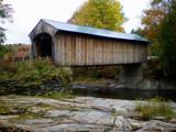 Covered Bridge in Vermont by Pistos, Photography->Bridges gallery