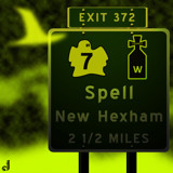 AU Road Signs - Exit 372 by Jhihmoac, illustrations->digital gallery