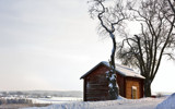Wintry timber barn by SEFA, photography->architecture gallery