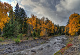 Fall On The Little Naches by DigiCamMan, photography->landscape gallery