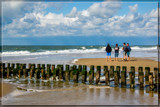 Beach Life (1), Fishing And Talking by corngrowth, photography->shorelines gallery