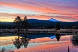 Dusk Over Mt. Bachelor by gr8fulted, photography->sunset/rise gallery