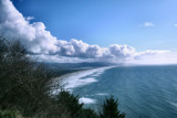 Ring of Clouds Over the Sea by verenabloo, Photography->Shorelines gallery