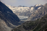 View from the Aletsch mountain range by Paul_Gerritsen, Photography->Mountains gallery
