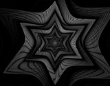 It's all Black & White - For Hilda by jswgpb, Abstract->Fractal gallery