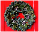 A Welcoming Wreath by trixxie17, holidays->christmas gallery