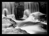 Blurred Wier B&W by dmk, Photography->Waterfalls gallery