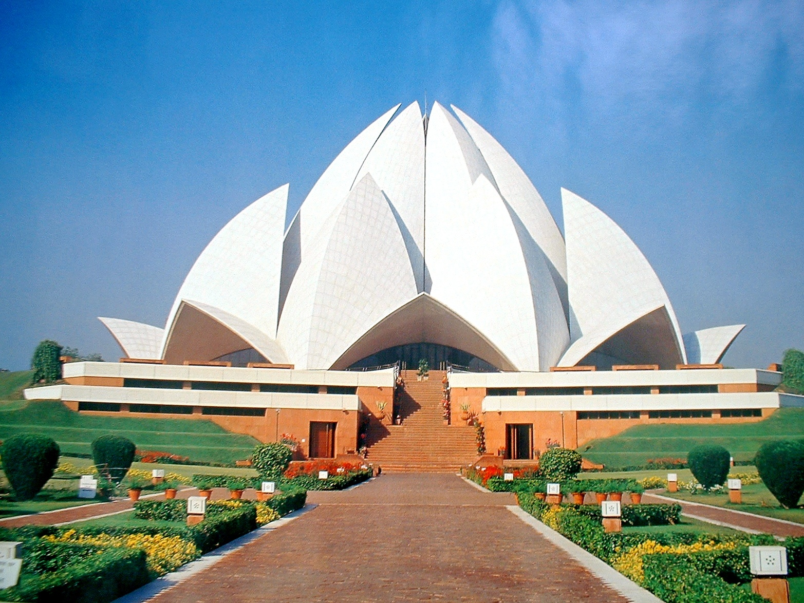 lotus temple by indian, Photography->Places of worship gallery