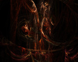 Fire Fountain by Skisy, Abstract->Fractal gallery