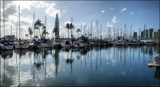 Ala Wai Blues by LynEve, photography->boats gallery