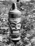 Tiki Torch by Jimbobedsel, contests->b/w challenge gallery