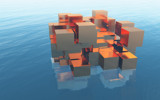 Copper Cubes by Morat, Computer->3D gallery
