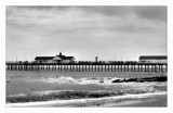 Southwold pier black and white by JQ, Photography->Shorelines gallery