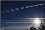 Airplane Tracks by HanneK, photography->aircraft gallery