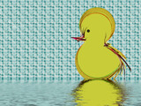 Rubber Ducky by Hottrockin, Abstract->Fractal gallery